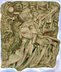 Our Archangel Gabriel Sculptural Plaque