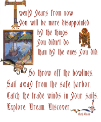 St Brendan Connection Quotation