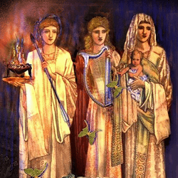 Brigid the Goddess