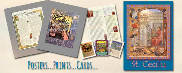 prints, cards, scrolls, posters