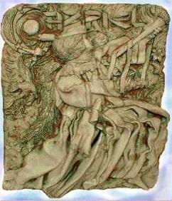 Our Archangel Gabriel Sculptural Plaque