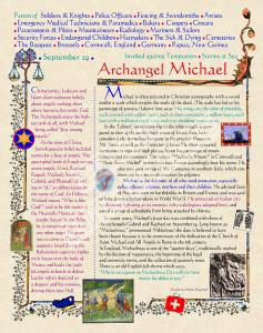 Archangel Michael Bio