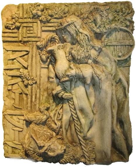 Brigid of Ireland sculpture
