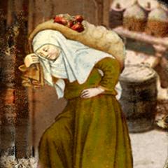 St. Gobnait or Abigail