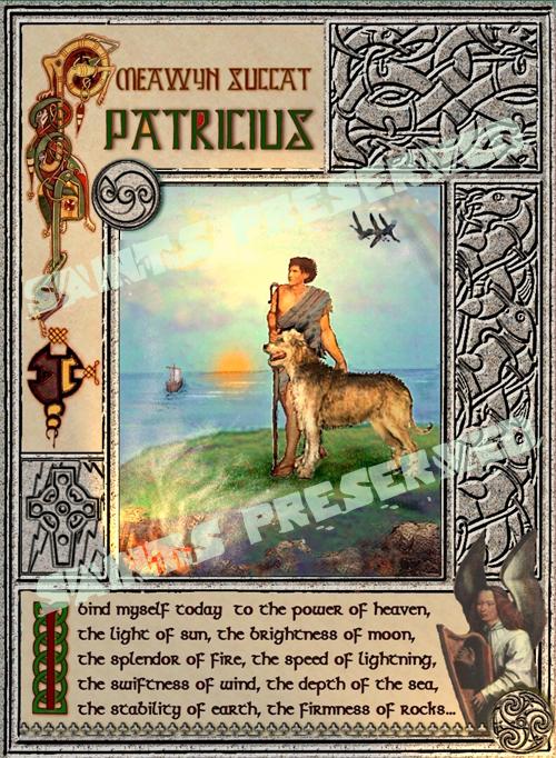St. Patrick original art