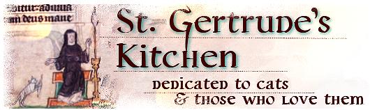 Gertrude of Nivelles, Patron Saint of Cats